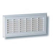 Grille de ventilation à sceller rectangulaire