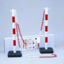 Kit chantier 2 poteaux PVC