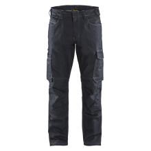 Pantalon services denim stretch 2D marine