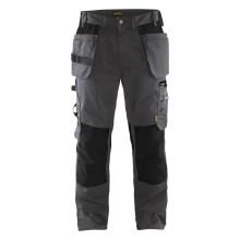 Pantalon artisan gris foncé/noir