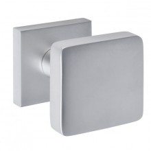 Bouton carré CUBIC fixe inox