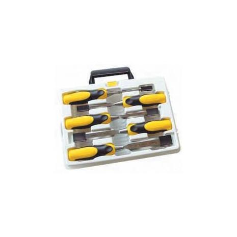 coffret 5 ciseaux bois dynagrip clef en ligne. Black Bedroom Furniture Sets. Home Design Ideas