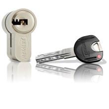 PROMOTION - Cylindre DOM Metalux T250 à 2 entrées de clé
