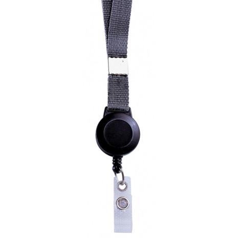 Cordon+ zip intégré porte-badge