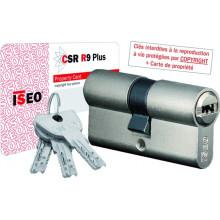 Cylindre de serrure ISEO R9 Plus à 2 entrées de clé