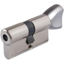 Cylindre VACHETTE  axi'home Nickelé à Bouton avec 5 clés