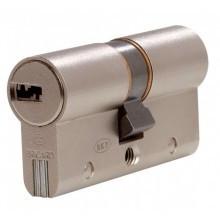 Cylindre BRICARD DUAL XP Nickelé à 2 entrées - avec 5 clés