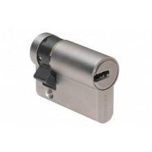 Demi-cylindre BRICARD DUAL XP Nickelé  - avec 3 clés