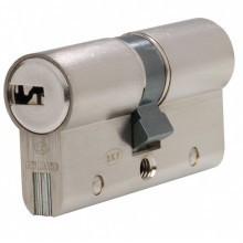 Ensemble de 2 cylindres BRICARD SERIAL XP Nickelé à 2 entrées  - avec 6 clés