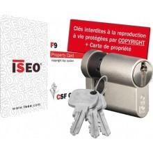 Demi-cylindre de serrure ISEO F9