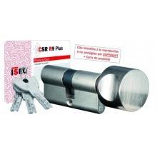 Cylindre de serrure ISEO R9 Plus à Bouton