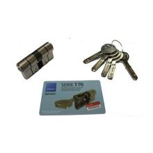 Cylindre de serrure TESA T70 à 2 entrées de clé