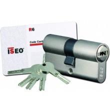 Cylindre ISEO R6 à 2 entrées de clé