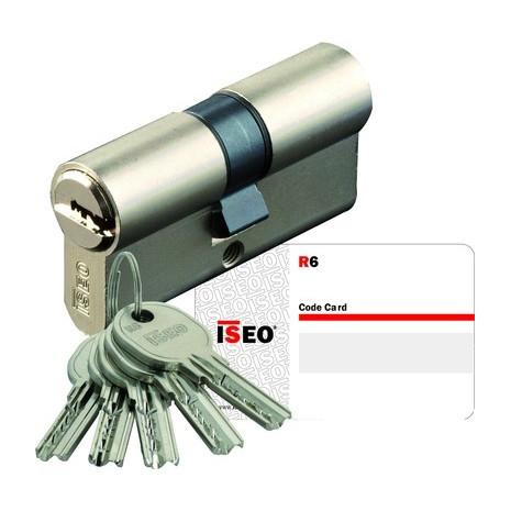 Cylindre ISEO R6 à 2 entrées de clés - Synkro