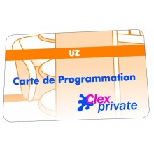 Carte de programmation Service KEY UZ