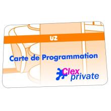 Carte de programmation Service KEY UZ
