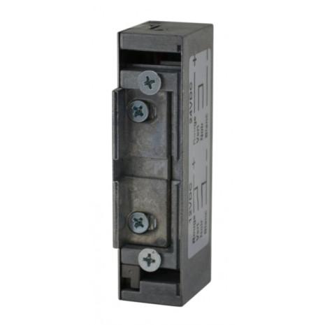 Gâche électrique à encaster universelle 12/24V AC/DC